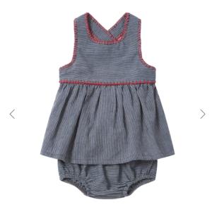 Ketiketa Zoe baby jurk + bloomer