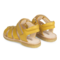 Angulus open sandals with velcro yellow