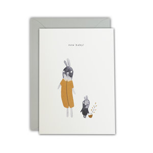 Ted & Tone card 'New baby'