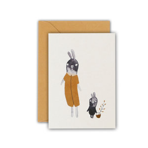 Ted & Tone carte 'Baby rabbit'
