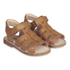 Angulus open sandals with velcro