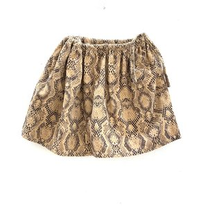 Long Live the Queen wide skirt python babyrib