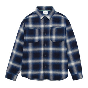 The New Society Checked shirt with patch pockets