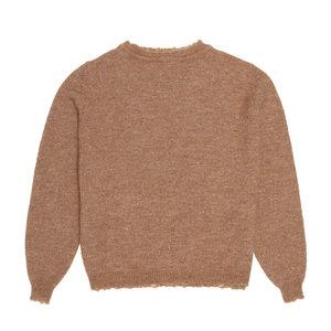 The New Society René knit pullover camel