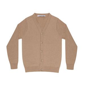Mingo fine knit cardigan beige