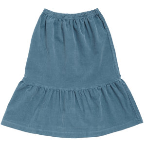 Maed for mini dizzy dragonfly rib long skirt