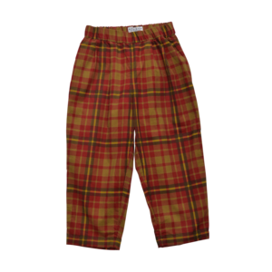 East End Highlanders lounge pants green-red