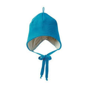 Disana hat boiled wool blue