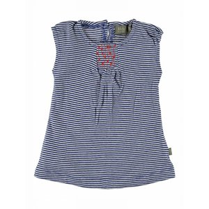 Kidscase baby dress Spirit off-white/blue