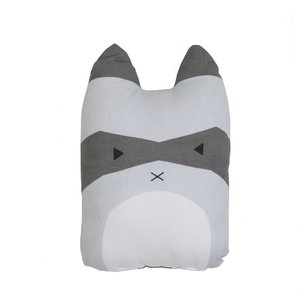 Fabelab animal cushion Rascal Racoon