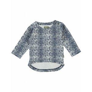Kidscase baby t-shirt Phoenix blauw/ecru