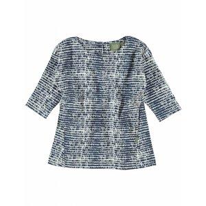 Kidscase baby jurk Phoenix blauw/ecru