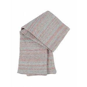 Kidscase baby sjaal Sugar roze/grijs