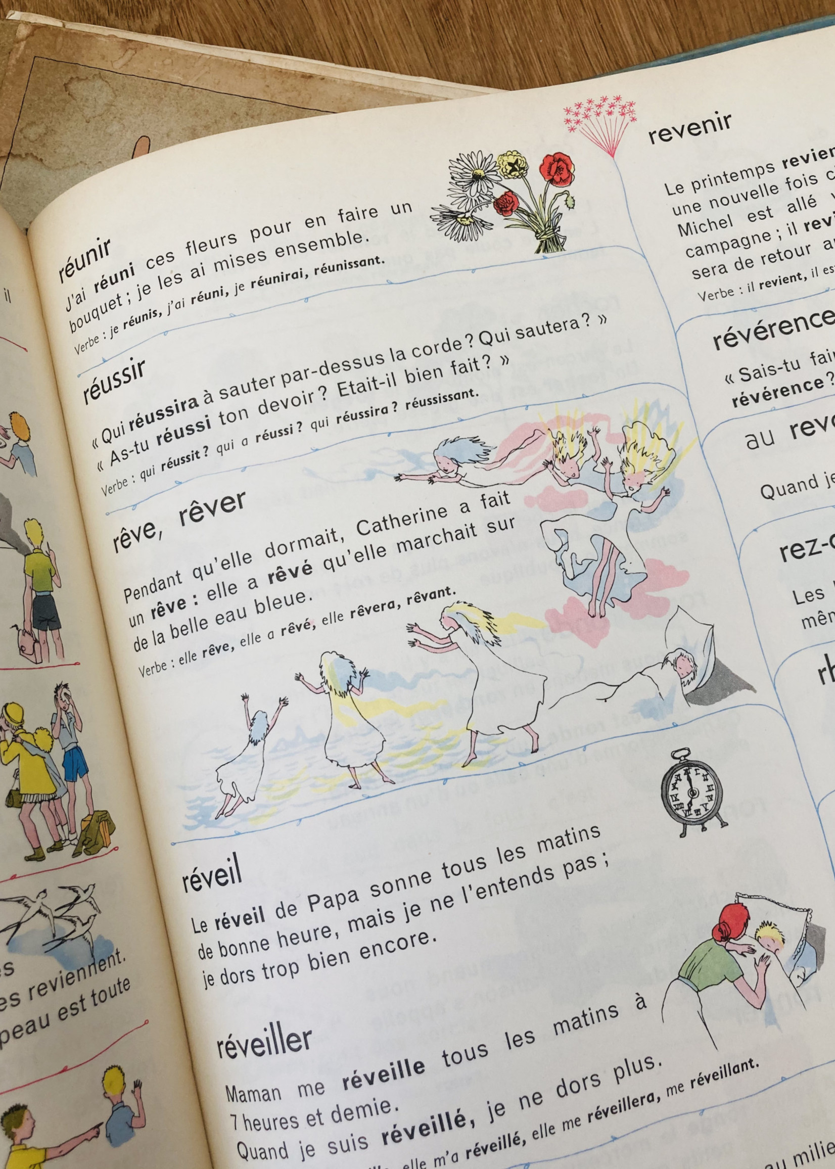 My first Illustrated Larousse 1954
