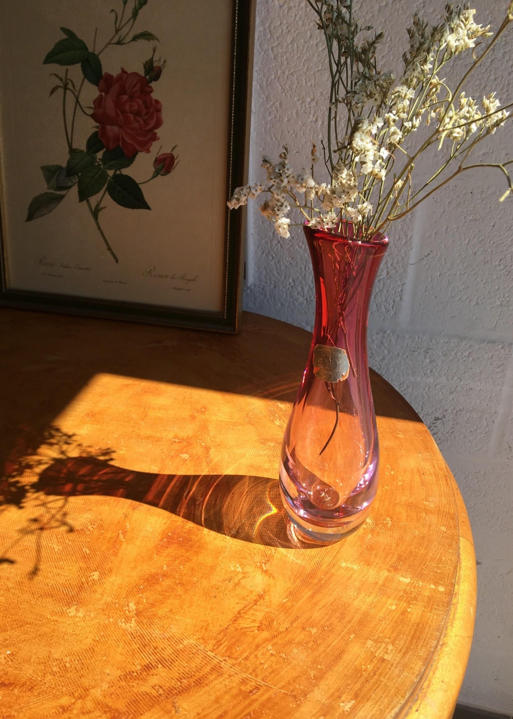 Pink Vase Val St. Lambert
