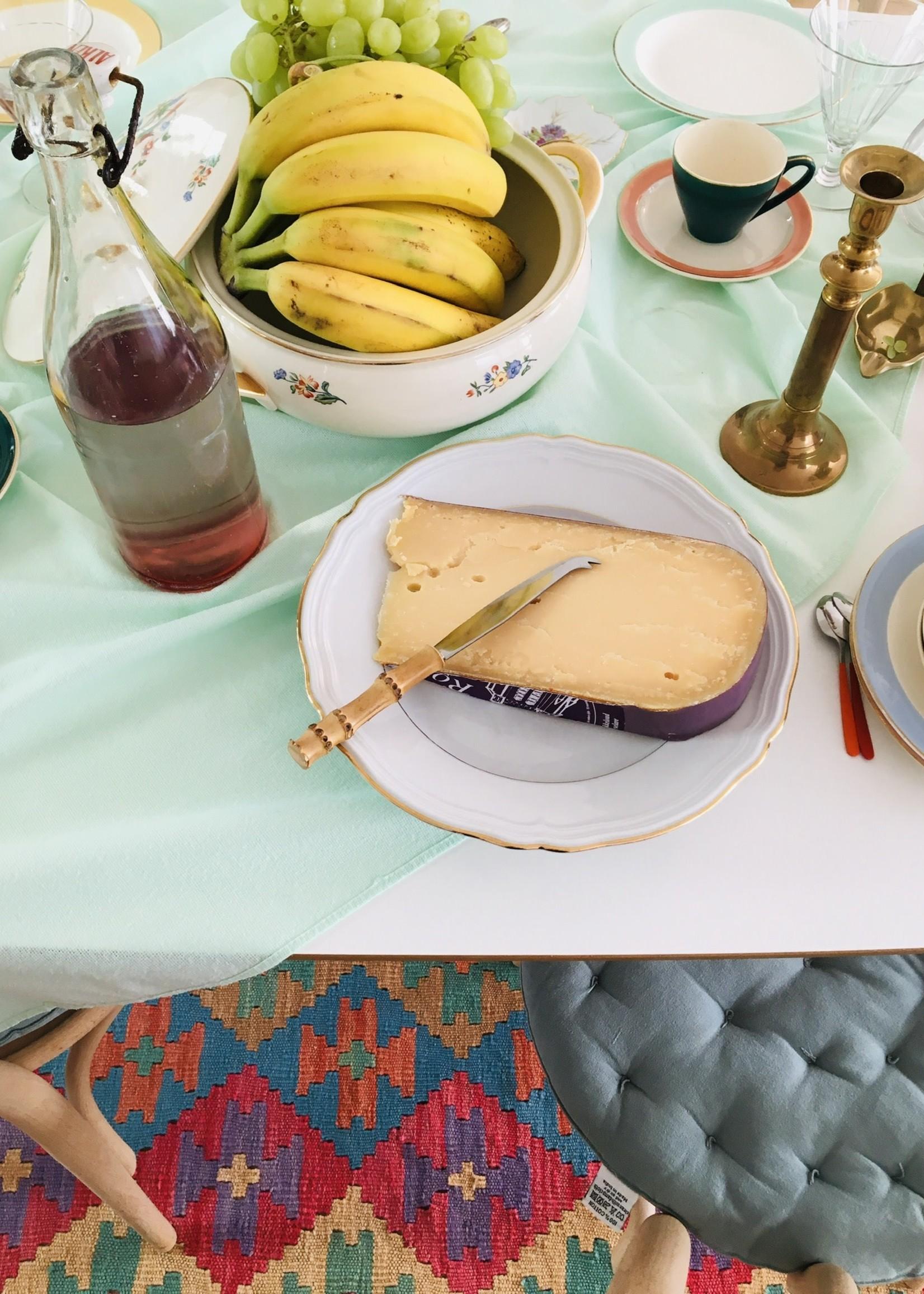 Bamboo cheese knife