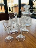 Crystal glasses - Port glasses
