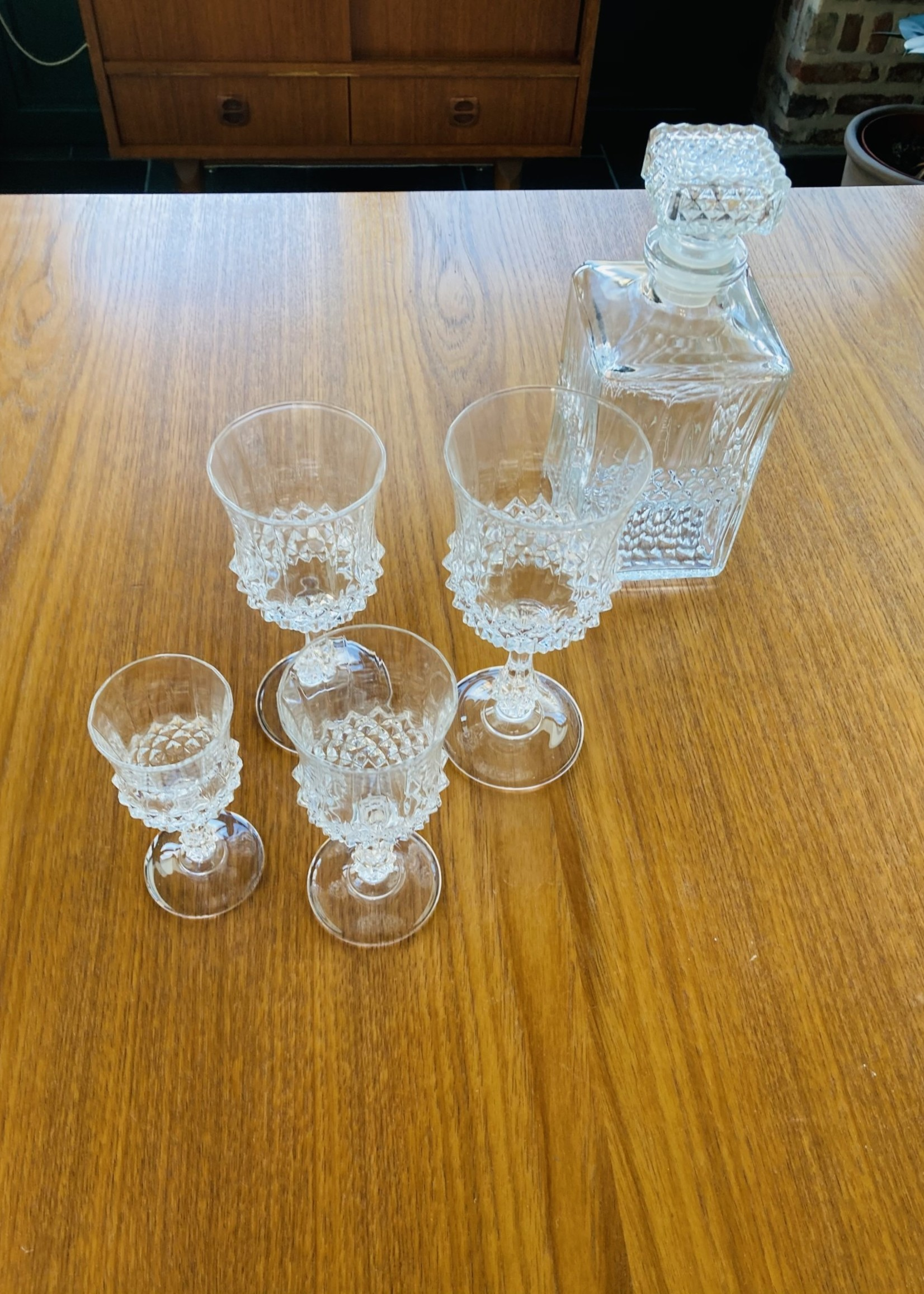 Crystal glasses - 6 Red Wine Glasses