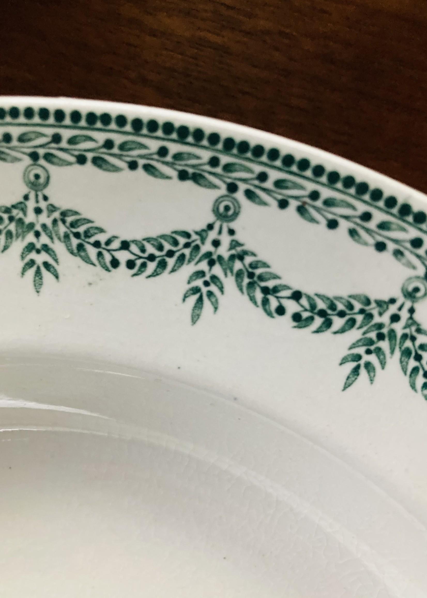 6 dinner plates BOCH model NEY