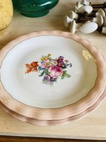 Limoge ULIM, Floral rose, serving dish round large