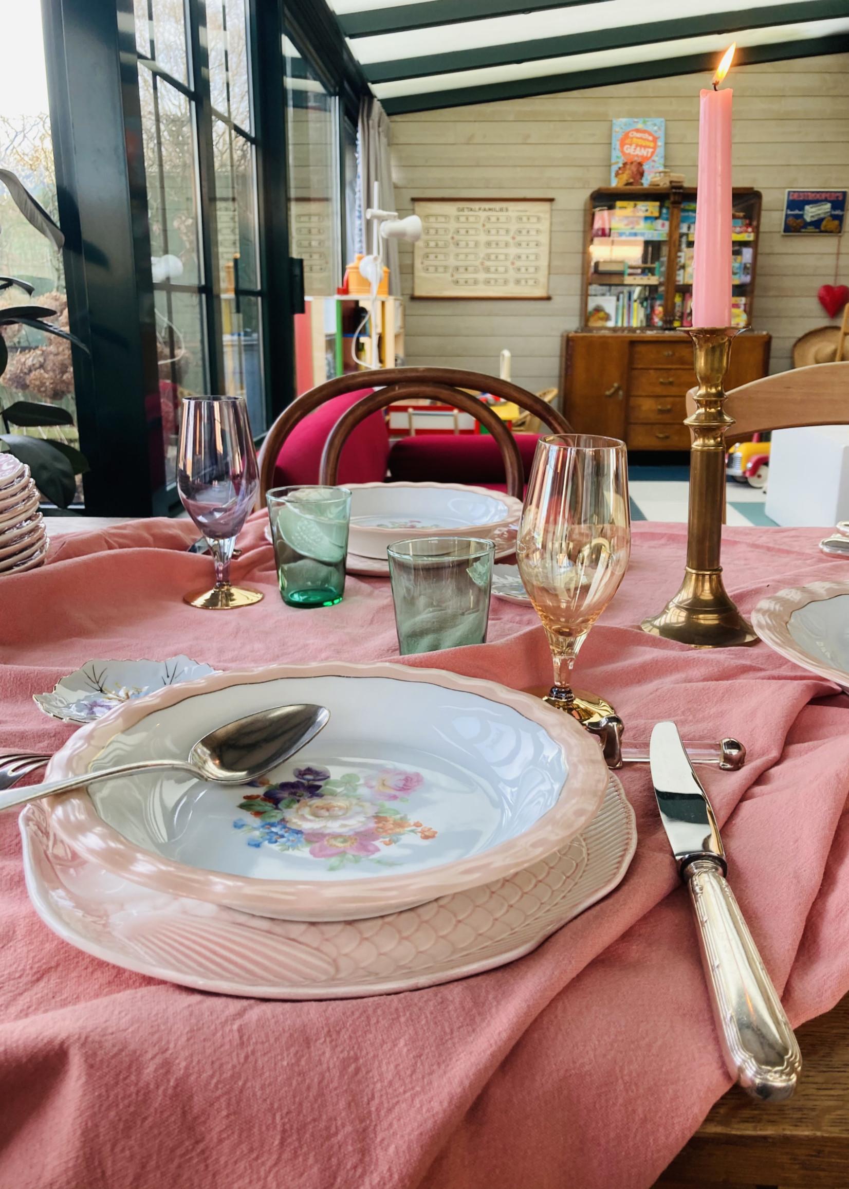 Limoge ULIM, Floral rose, deep plate
