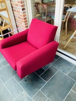 Airborne upholstered armchair 1960 G10 by Guarriche