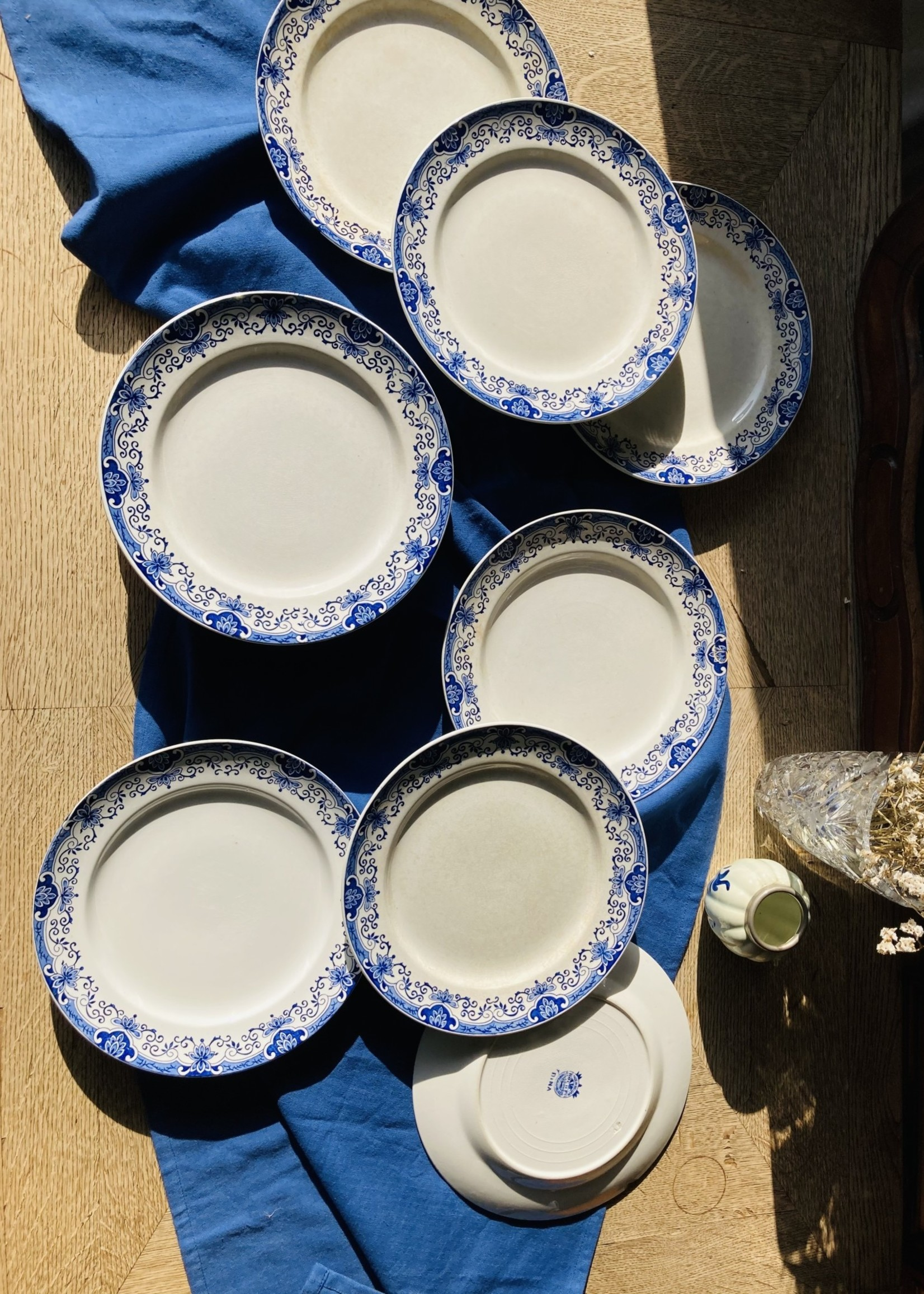 Large Plates Boch decor Dina