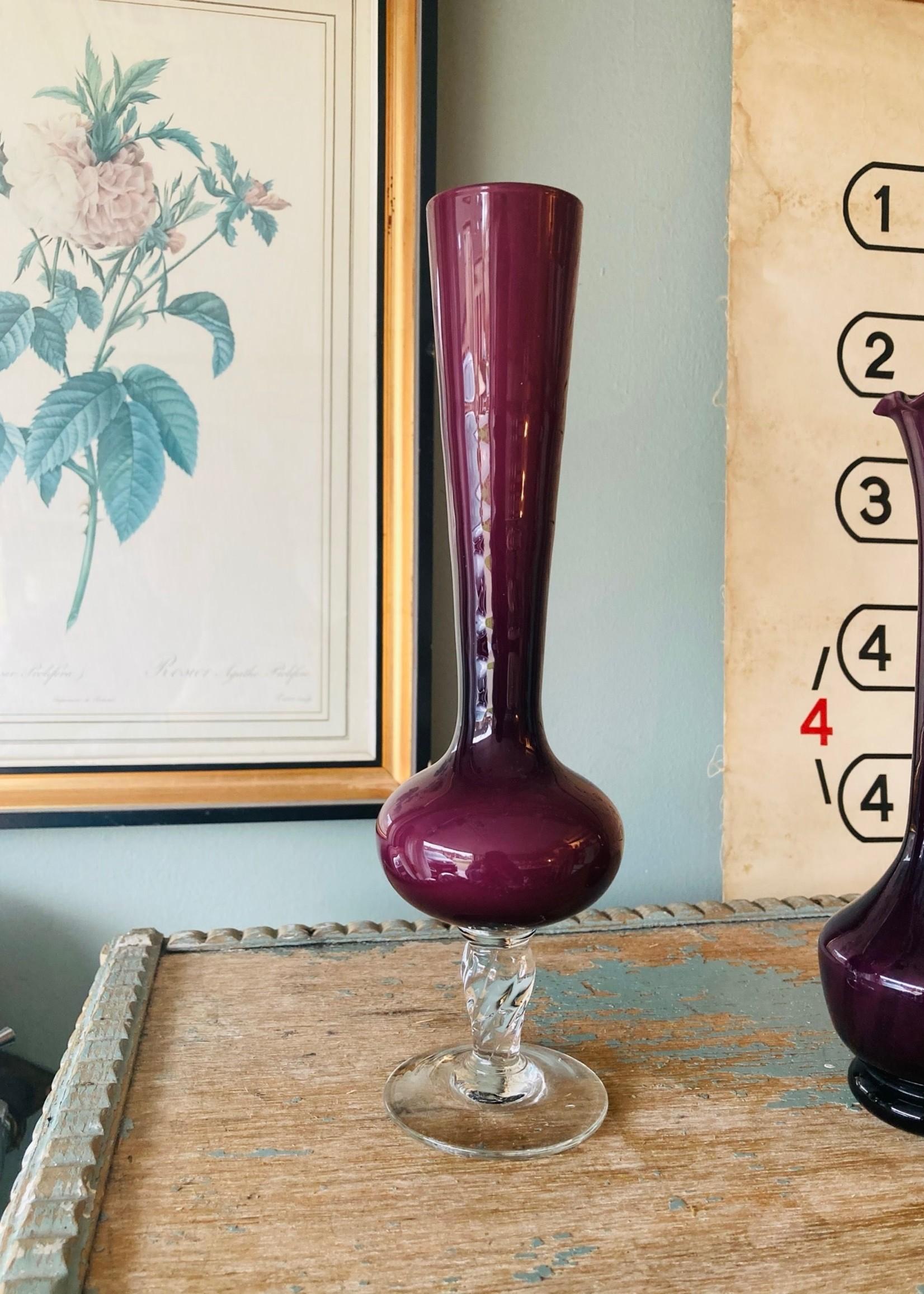 Opalin Soliflower Burgundy Large