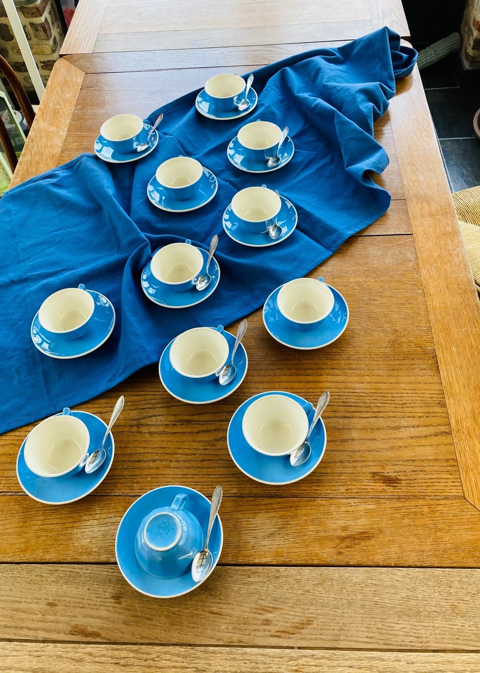Coffee service Blue Deco Orléans Villeroy & Boch France