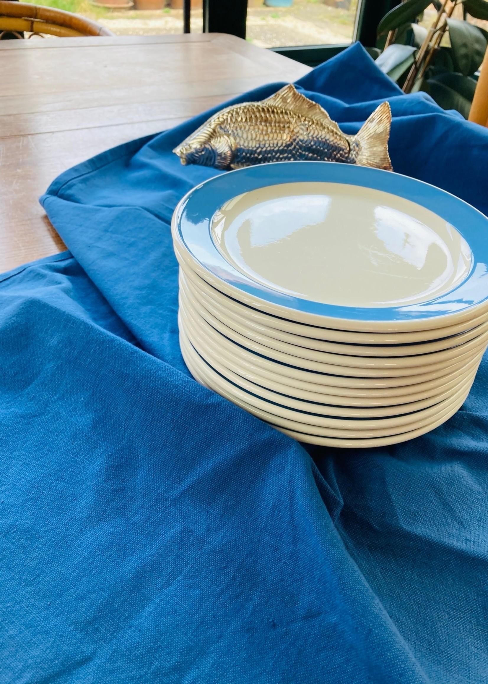 Dessert plate Blue Decor Orléans Villeroy & Boch France