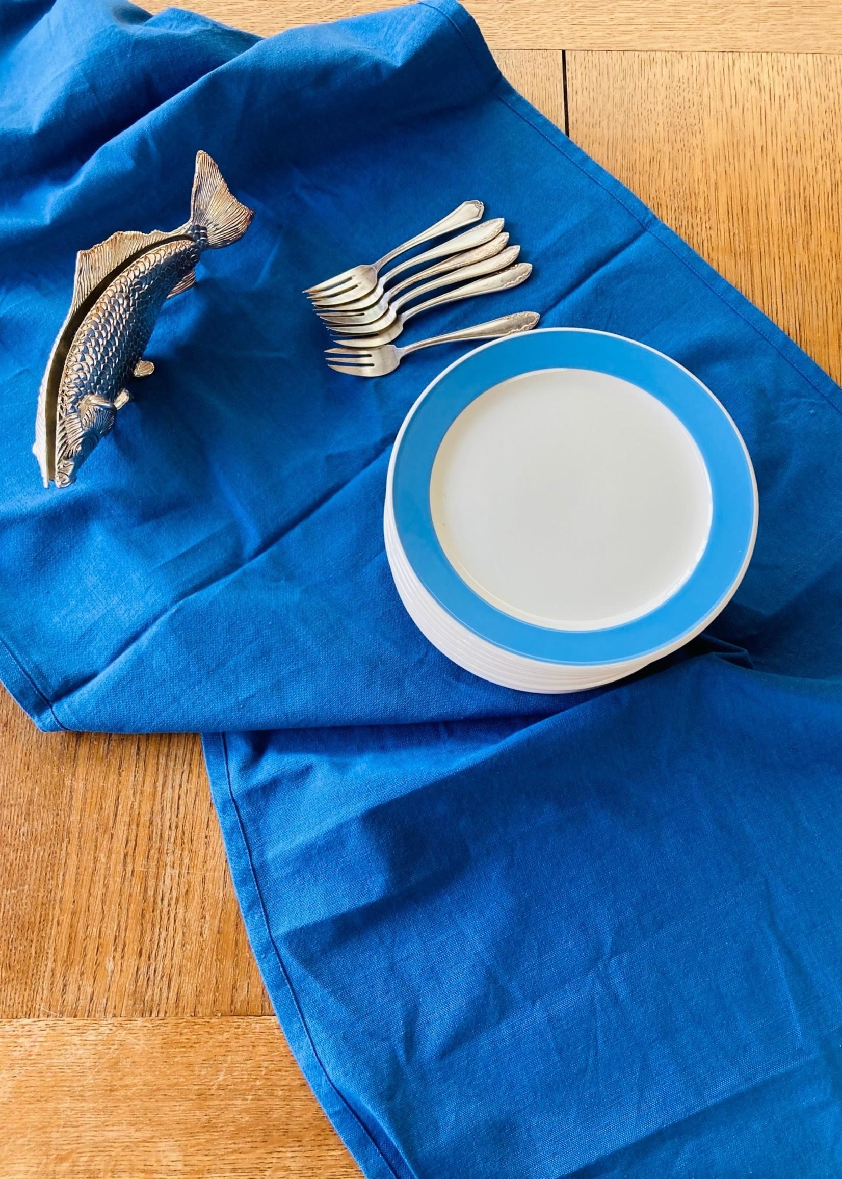 Dessert plates Blue Decor Orléans Villeroy & Boch France