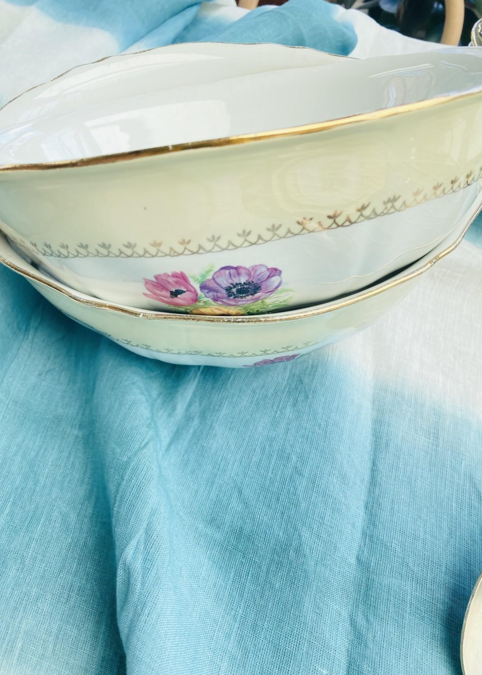 Set of 2 Salad bowls Amandinoise model Coopelia
