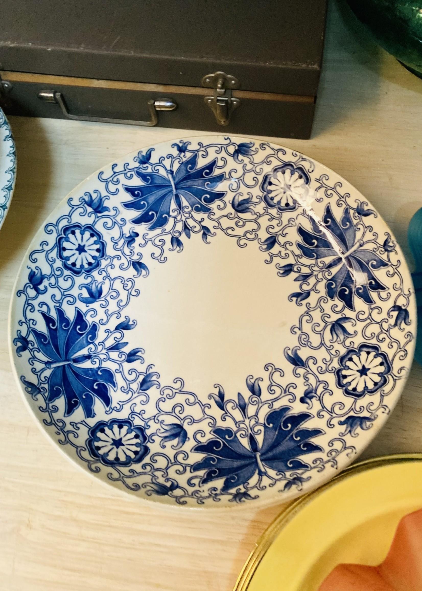 Keralux deep plates blue decor
