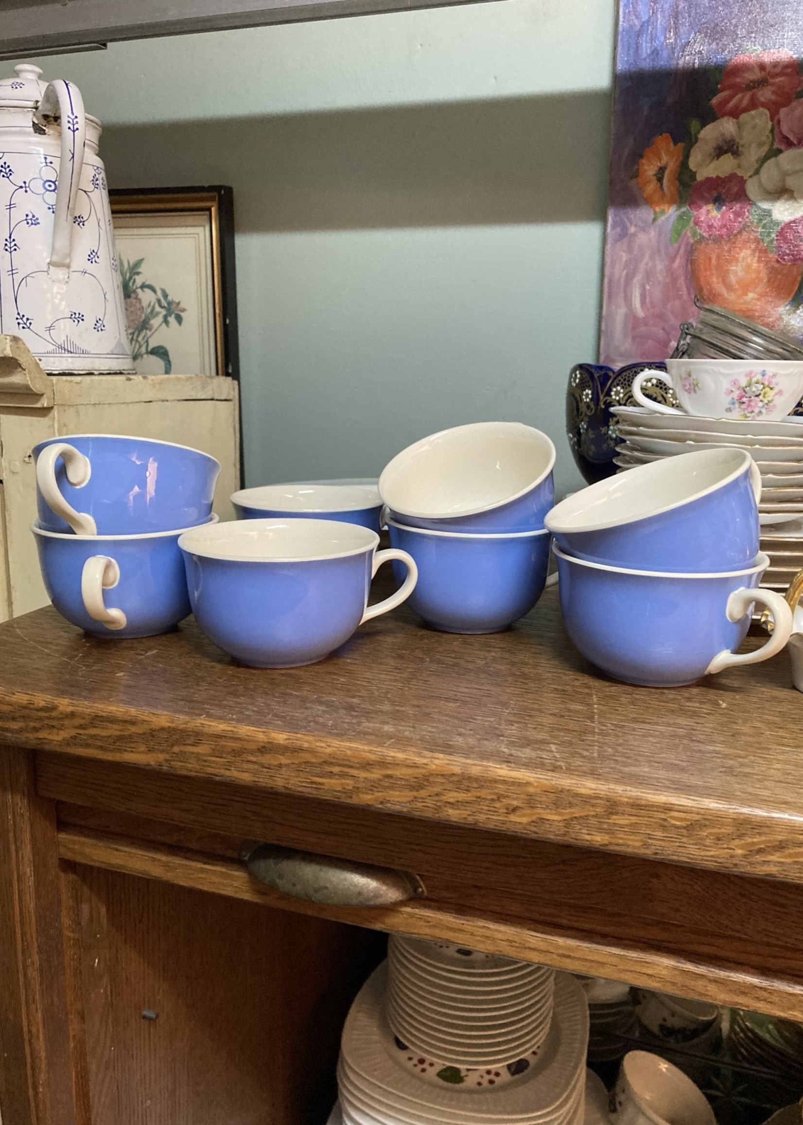 Coffee cups Blue Orléans by Villeroy & Boch without plate