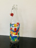 Italian bottle from the eighties with colors