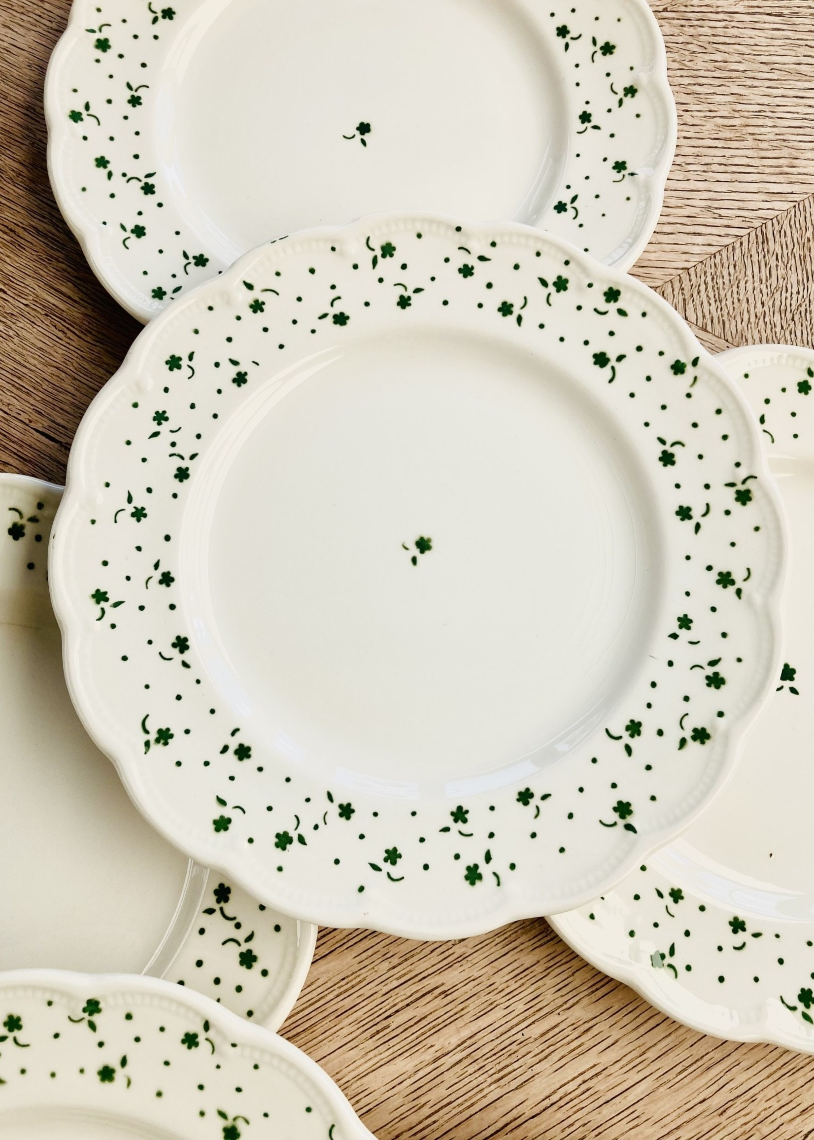 Small plates Flora by Boch green
