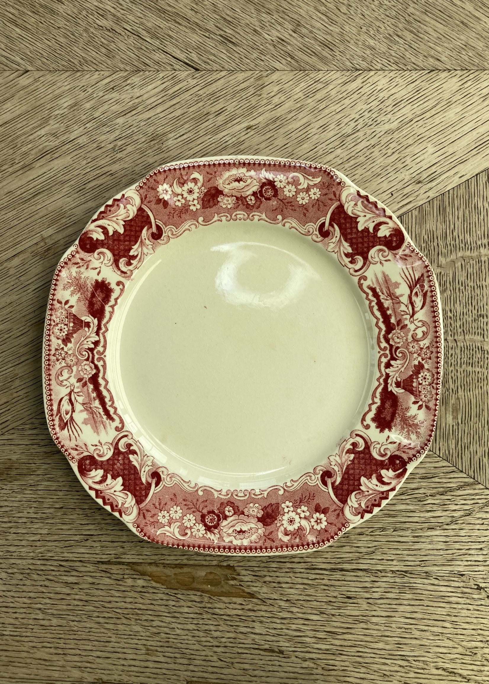 Small plate red Victoria