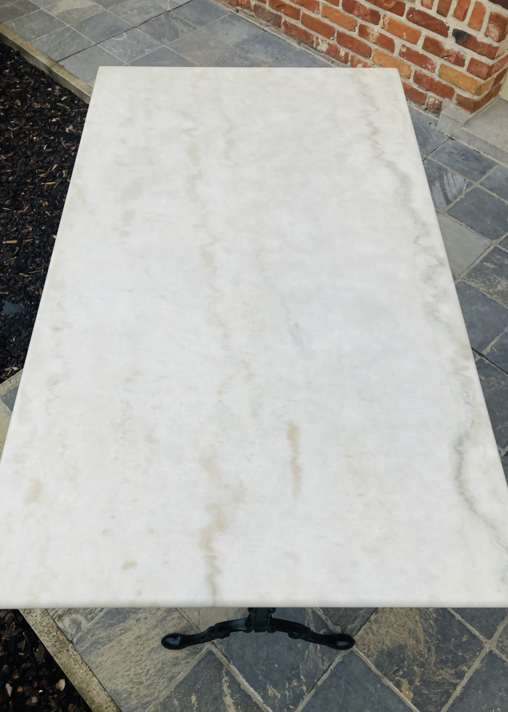 Marble Bistrot tabel rectangle