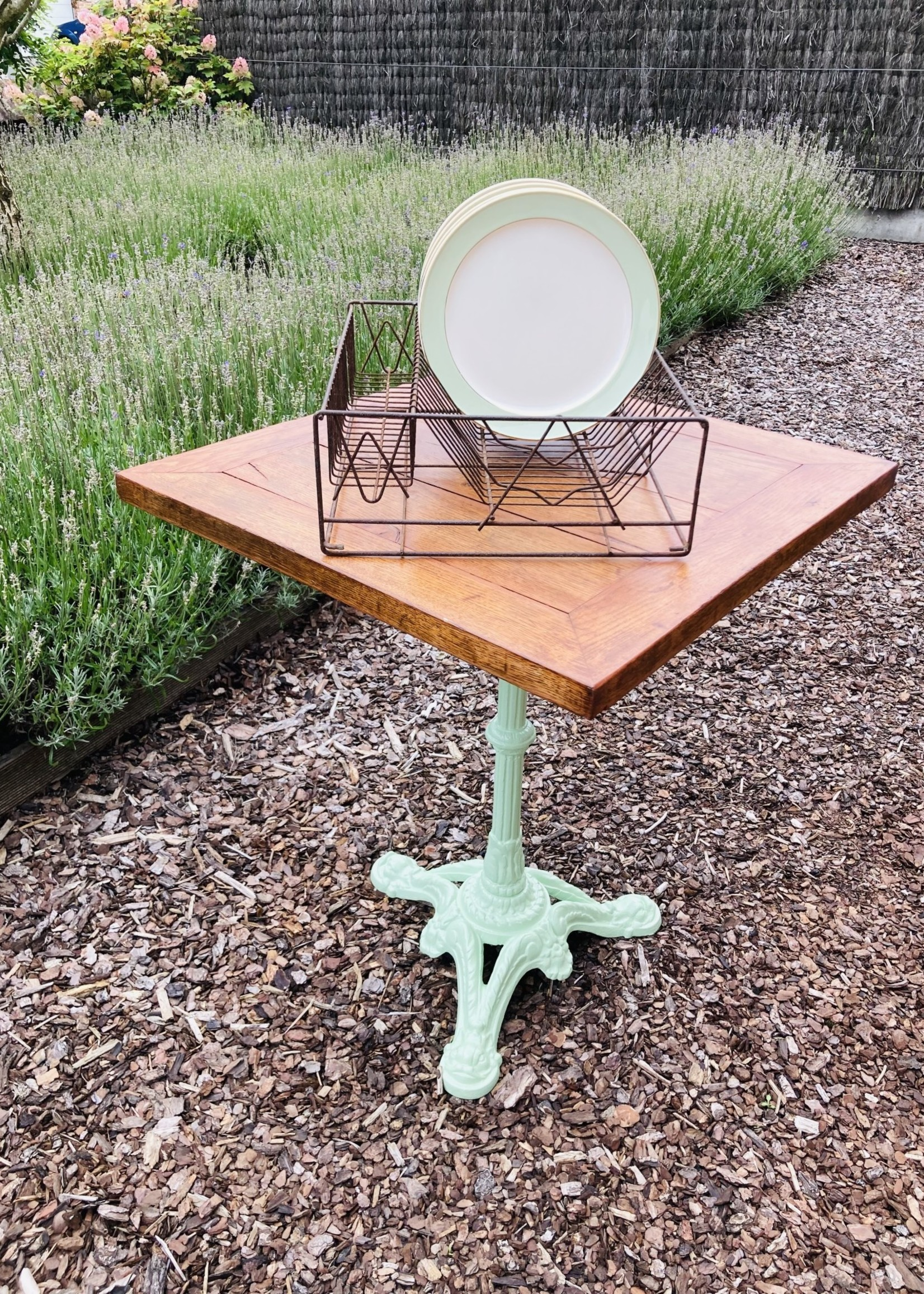 Antique Metal shelve for dish dripping , rectangle