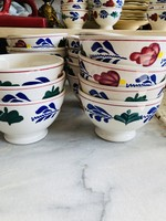 Mini bowls for apéro from Boch Décor Boerenbont (arround 10cm daim)