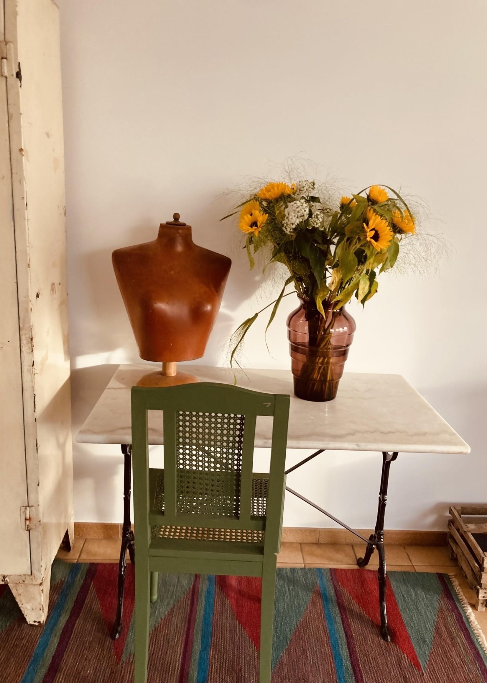 Doyen Doyen Vase high and large in Burgundy color