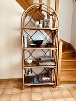 Rattan and Bambou standing shelf