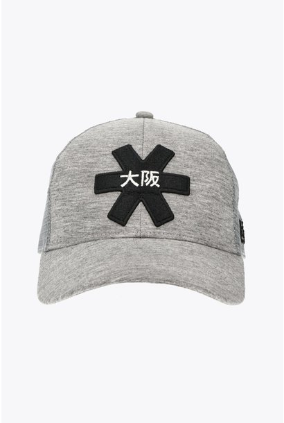 Osaka Trucker Cap - Grey/Black