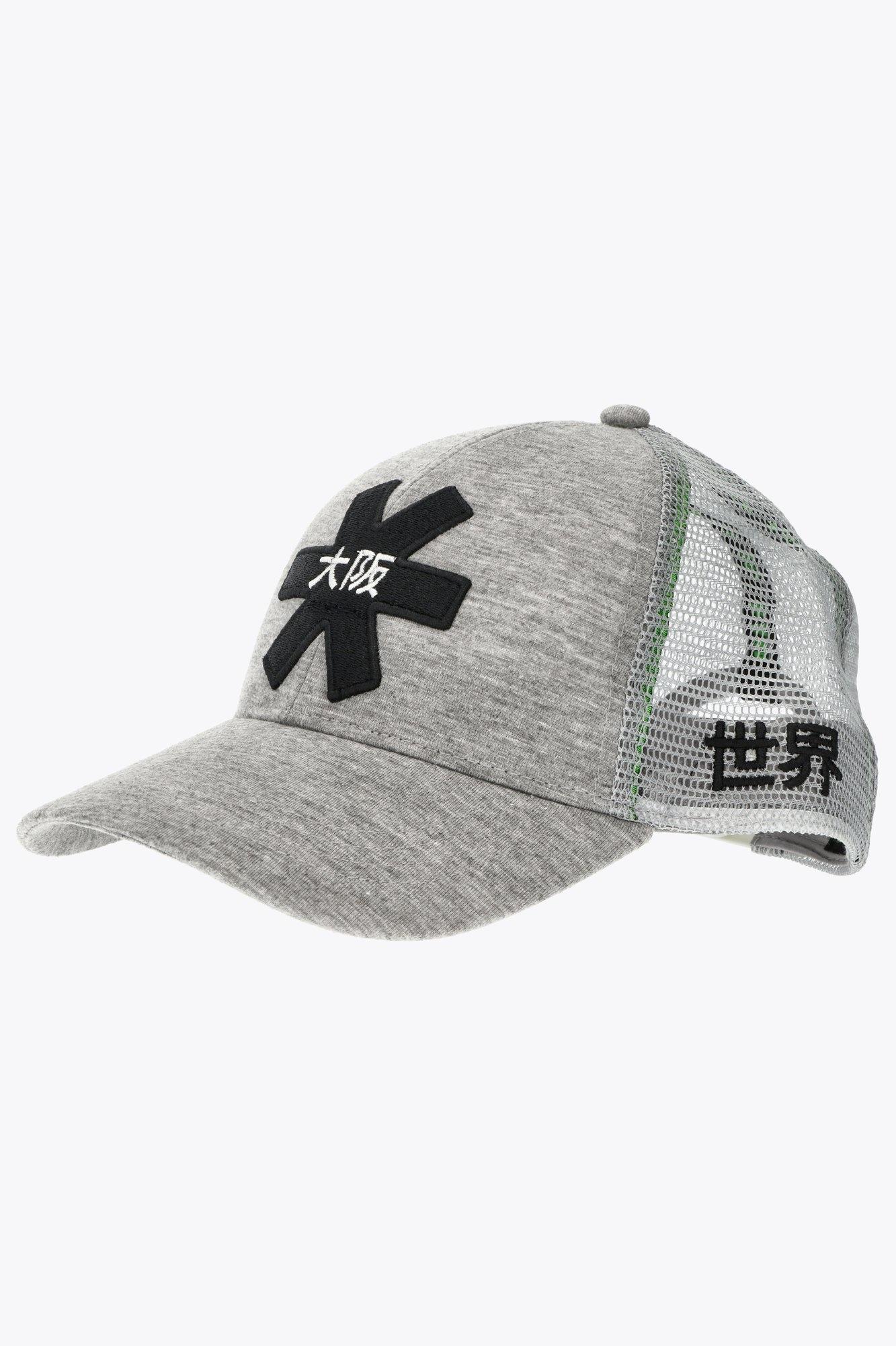 Osaka Trucker Cap - Grey/Black-2