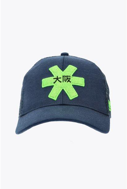 Osaka Trucker Cap - Blue/Green