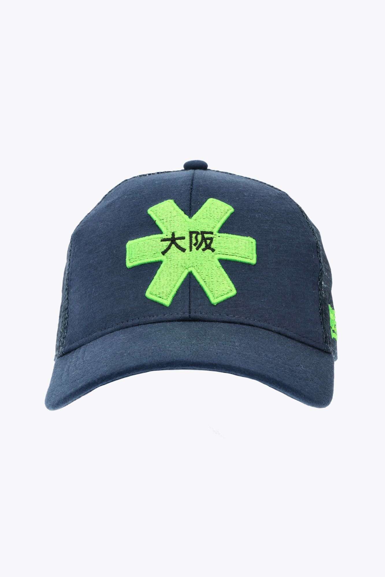 Osaka Trucker Cap - Blue/Green-1