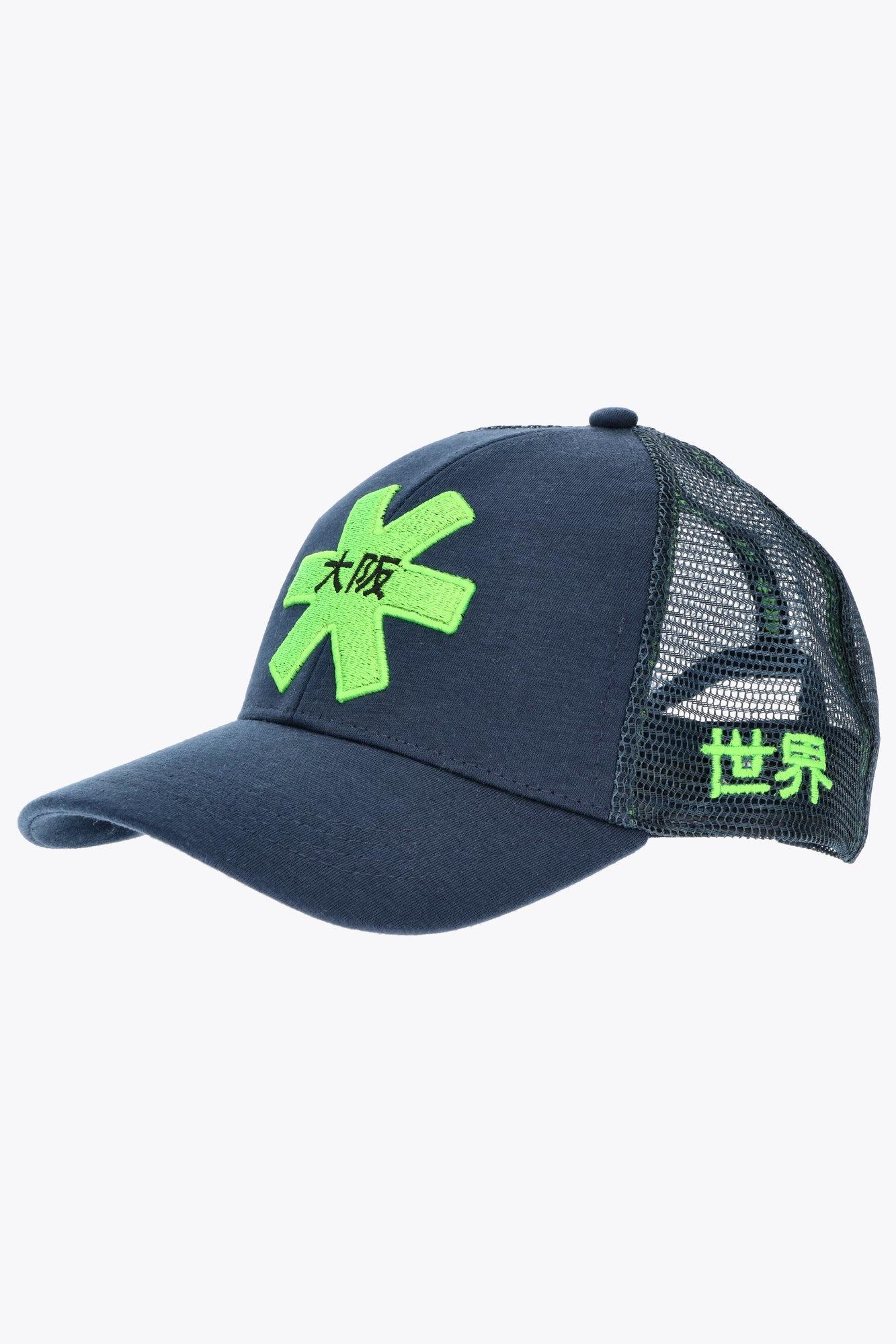 Osaka Trucker Cap - Blue/Green-2