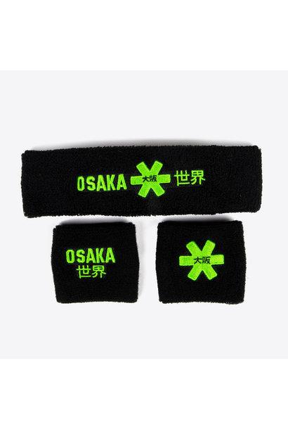 Osaka sweatbands black
