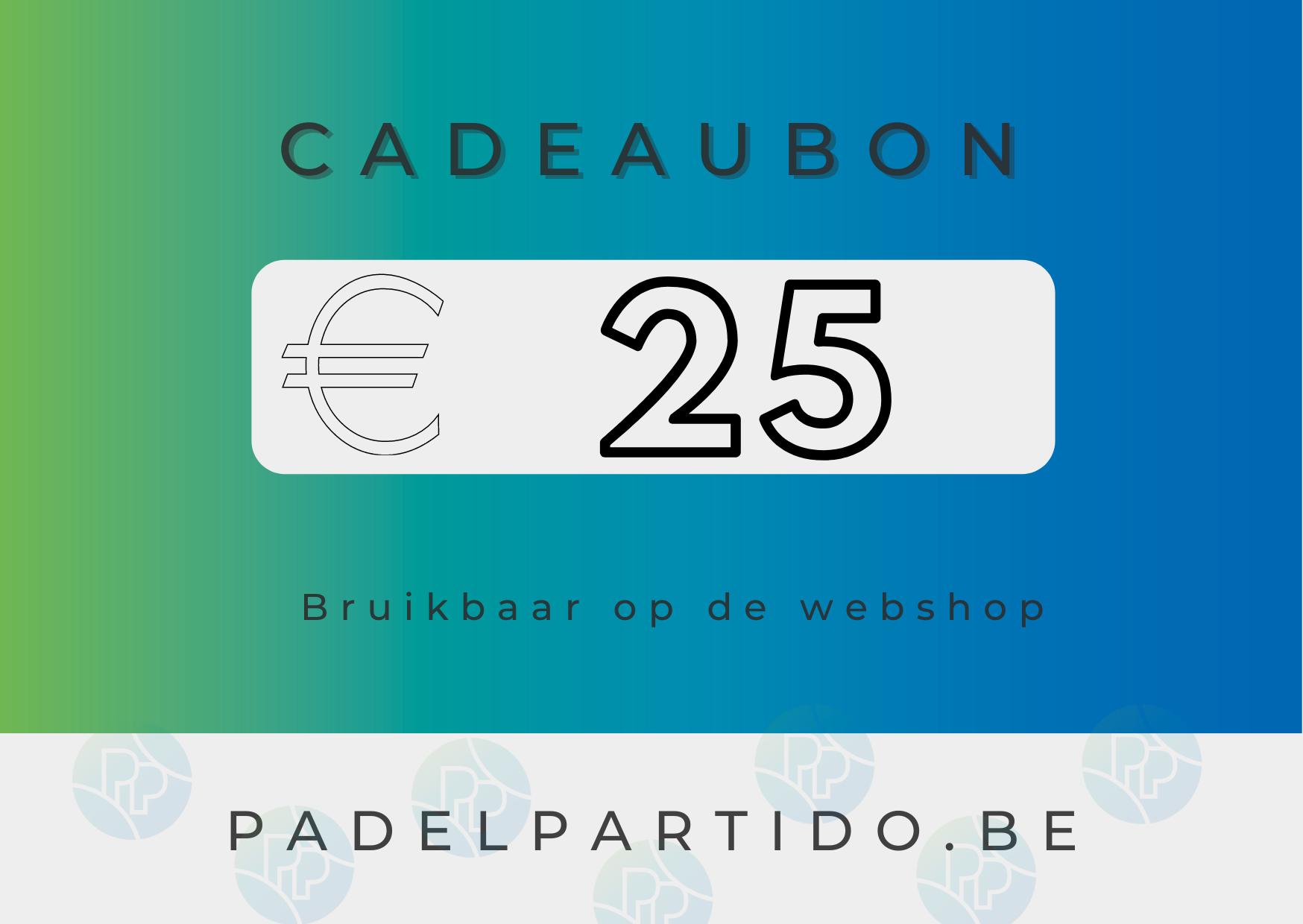 Cadeaubon €25-1