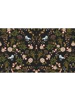 Mutsaers Textiles Alpenfleece jeans flowers